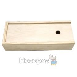 Пенал для гуаши ROSA деревянный 24,3х9,5х5,3 см