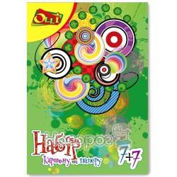 Цветная бумага и картон Olli OL-0477-7 14 л. 7 цв. 175101