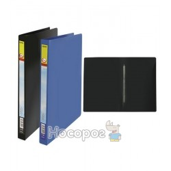 Папка з прижимом Soho S-11E А4 синя 411083