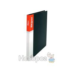 Папка пластик А4 на Skiper SK-10 чорна 410862