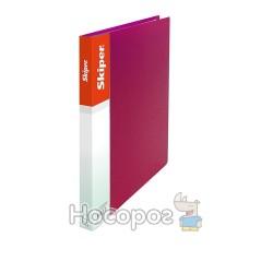 Папка пластик А4 на Skiper SK-10 червона 410865