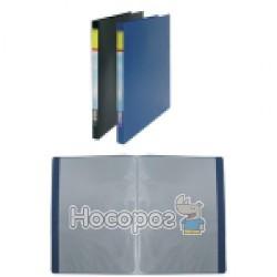 Папка пластик SOHO S-10E Econom А4 на 10 файлів, синя 412011