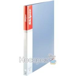 Папка с 10 файлами Skiper SK-10 серебристая 410866