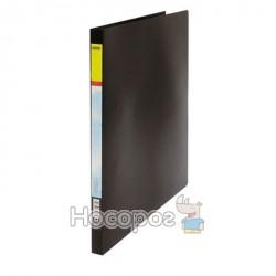 Папка пластик SOHO S-40E Econom на 40 файлів А4, чорна