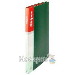 Папка с 30 файлами Skiper SK-30 зеленая 410882