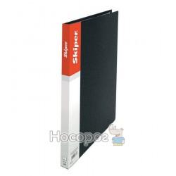 Папка пластик Skiper SK-20 на 20 файлів, А4 чорна 410871
