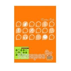 Папка з прижимом Data bank DB-11EC Emotion Code А4 помаранчева 410093