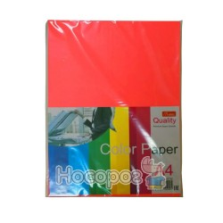 Бумага цветная Color Paper неон. 100 л. 5 цветов