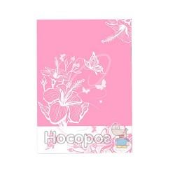 Папка з прижимом Skiper SK-11LF L'inspiration des Fleurs A4 рожева 410110