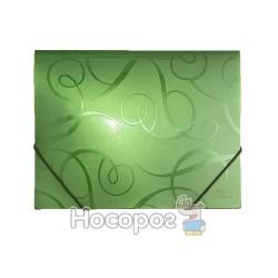 Папка на резинках Skiper SK-4302AR Арабеска зеленая