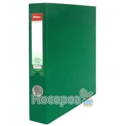 Папка с четырьмя кольцами Skiper SK-487 зеленая 475373