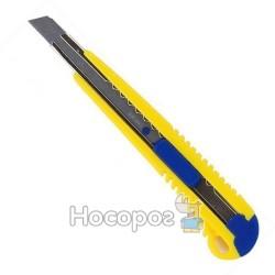 Нож канцелярский BUROMAX 9 мм 4602