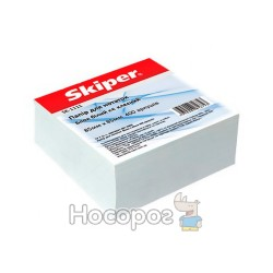Блок паперу для нотаток білий не клеєний Skiper SK-1111