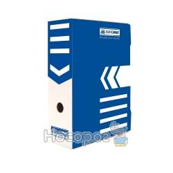 /Бокс для архівації документів 100мм, синій
