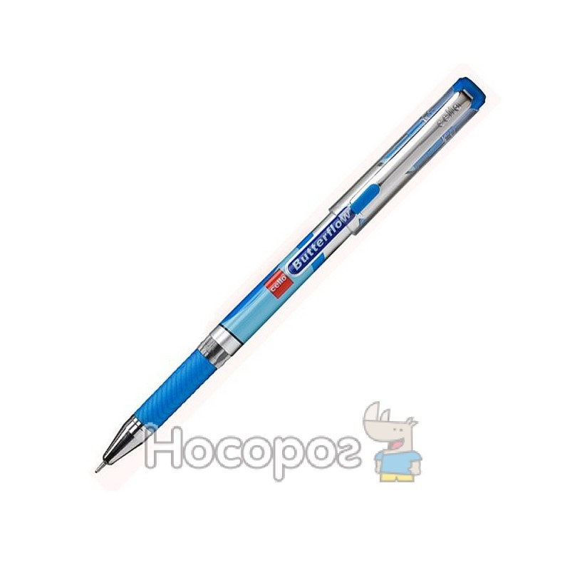 Фото Ручка шариковая CELLO BUTTERFLOW синяя