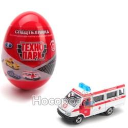 Яйцо-сюрприз с машинкой спецслужбы