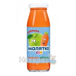 Сок Малятко морковь-яблоко (стекло) 175 мл