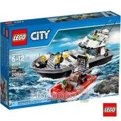 """Конструктор LEGO 60129 """"Полицейская патрульная лодка"""""""