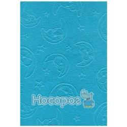 Фетр листовой ROSA Talent Мишка на луне голубой