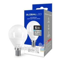 Лампа светодиодная 1-GBL-144 G45 F 5W 4100K 220V E14 AP яркий свет