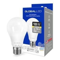 Лампа светодиодная 1-GBL-163 A60 10W 3000K 220V E27 AL мягкий свет