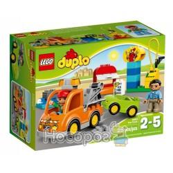 """Конструктор LEGO Duplo10814 """"Буксировщик"""""""