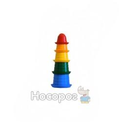 Игрушка пирамидка ТехноК Сомбреро 1 2667