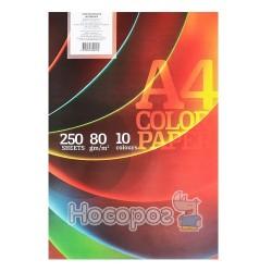 Бумага офисная цветная Color Paper ПК-10/250
