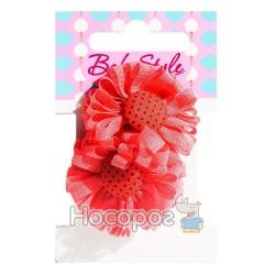 Резинка для волос BS-71-2*10-3 цветочек 00104