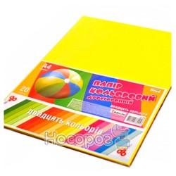 Бумага цветная Unison БЦ-006 двусторонняя