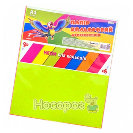 Бумага цветная Unison БЦ-003 двусторонняя
