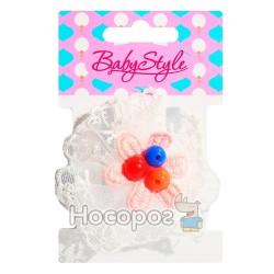 Резинка для волос BS-46-1*24-2 Цветочек 1шт