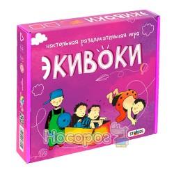 """Настольная игра Стратег """"Экивоки"""" 112 карточек"""