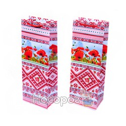 Пакет подарунковий Unison 066.4-2 пляшка