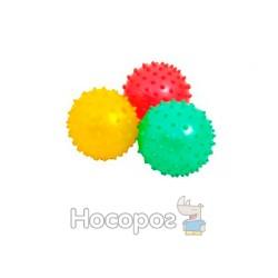 Мяч ежик масажный М3-3 (3в1)