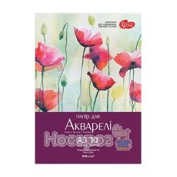 "Папка для акварелі ""ROSA"" Квіти А3"