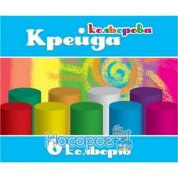 Крейда кольорова асфальт Колорит МЦК-6, кругла