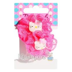 Резинка для волос 00110 BS-75-2*10-2 Hello Kitty 2 шт