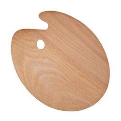 Палитра деревянная, овальная, 40х50см., (толщина 3мм.), D.K.ART & CRAFT