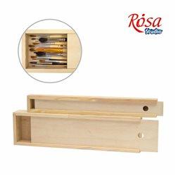 Пенал для пензлів дерев'яний ПК2, (35х4,9х3см), ROSA Studio