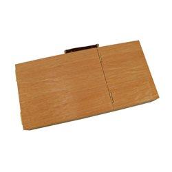 Пенал-этюдник акварельный, деревянный (вяз) (33х16,5х5см), D.K.ART & CRAFT