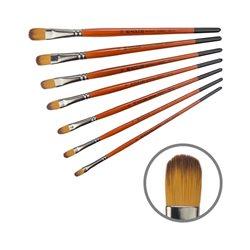 Синтетика овальная, Carrot 1097FR, № 6, к.р. кисть KOLOS