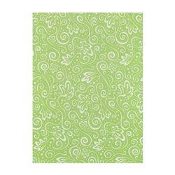 """Велум напівпрозорий """"Мілан"""", Зелений, А4 (21х29,7см), 115г / м2, Heyda"""