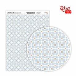 """Дизайнерський папір одностороння """"Затишне ранок"""" 4, 21х29,7 см, 250 г / м2, ROSA TALENT"""