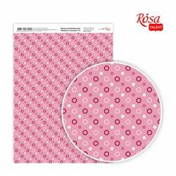 """Дизайнерський папір одностороння """"Моменти & nbsp; ніжності"""" 6, 21х29,7 см, глянцева, 250 г / м2, ROSA TALENT"""