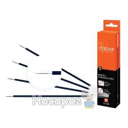 Стержні кулькові TZ-140 0,7 мм, (140 мм) сині (100/5000)