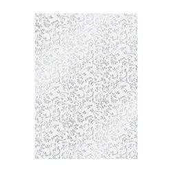 """Велум полупрозрачный """"Рим"""", серебрянный, А4 (21х29,7см), 115г/м2, Heyda"""