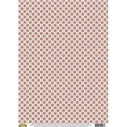 Фоновая бумага для декупажа «Скандинавский узор», 29,7*42 см, 40г/м2, Vintage Design