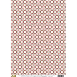 Фонова папір для декупажу «Скандинавський візерунок», 29,7 * 42 см, 40г / м2, Vintage Design