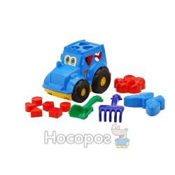 """Сортер-трактор """"Colorplast"""" Кузнечик №2"""